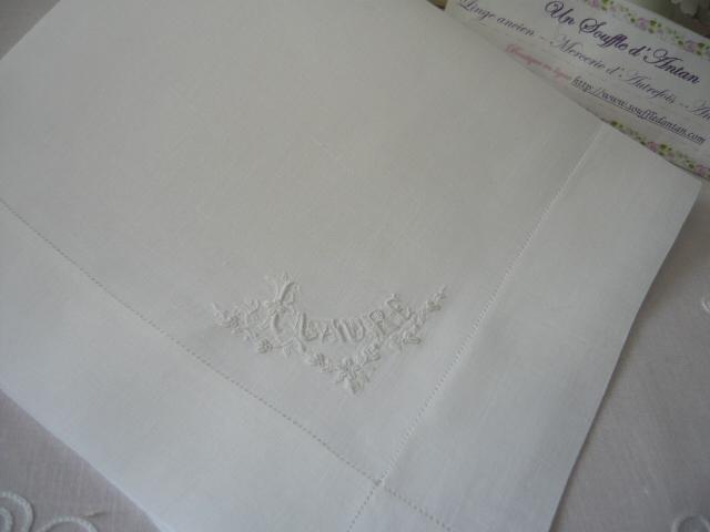 linge ancien antiquit 233 s mercerie ancienne au souffle d antan linge de maison les mouchoirs